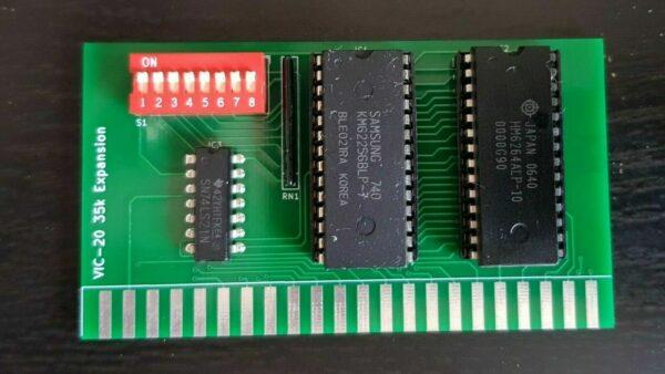 VIC-20 35k memory expansion