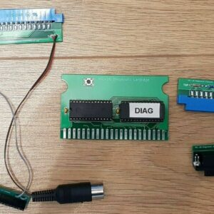 VIC-20 Diagnostic board and harness