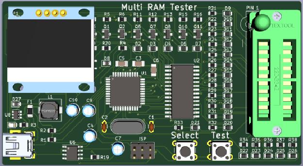 Multi RAM Tester